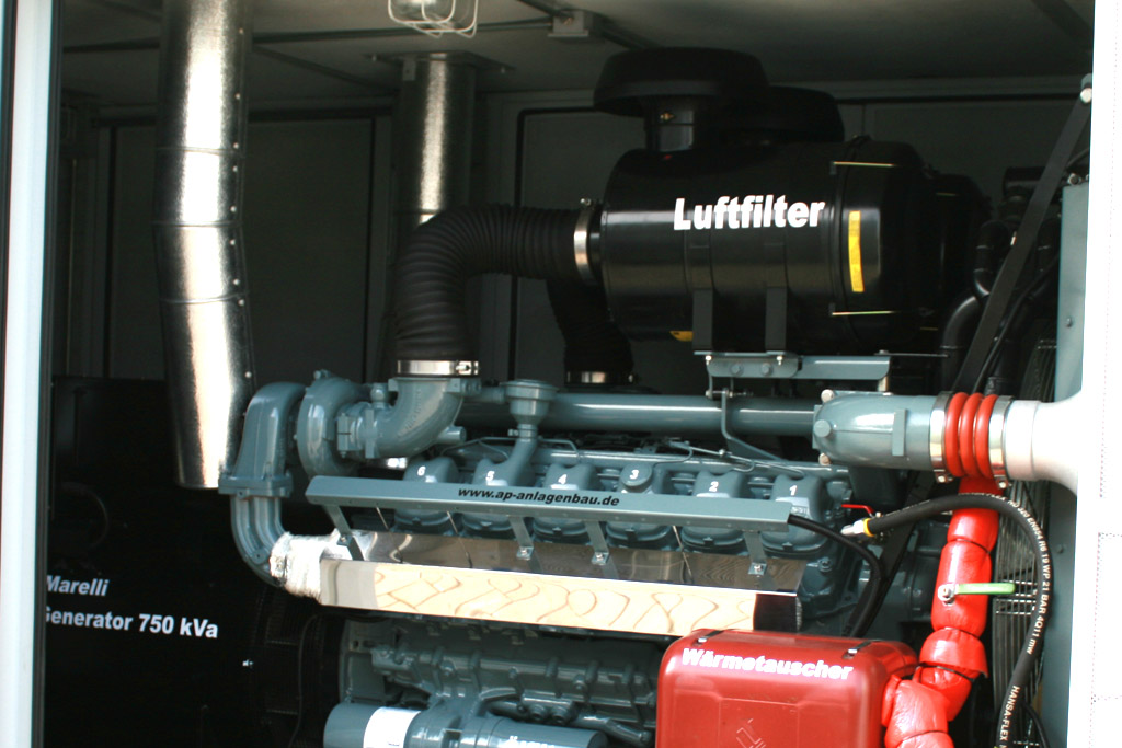 Anlagenbau Pörschke - 430 kW MAN